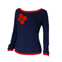 Longsleeve RED FLOWER70...