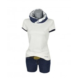 Damen Hoodie Shirt , CREAM...