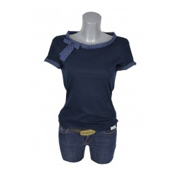 Shirt DOTS DOTS blau punkte...