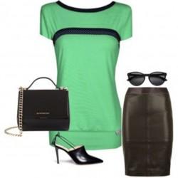 """Iza Fabian - Shirt """"GREEN..."""