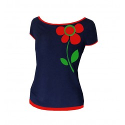 "Iza Fabian - SHIRT "" fLOWER..."