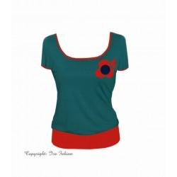 Iza Fabian , Damen  Shirt,...