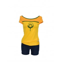 Iza Fabian, T-Shirt -YELLOW...