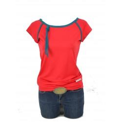 Iza Fabian Shirt Designer Rot