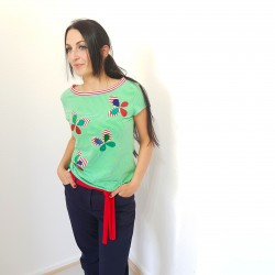 Iza Fabian, Damen Shirt mit...