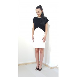 Iza Fabian, Elegante Kleid...