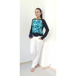 SALE, Damen Langarm Shirt,...