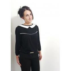 Jersey Designer  Bluse in...