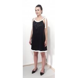 Damen Kleid in Schwarz mit...