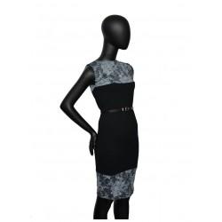 Kleid, -ABBAS 9- ,schwarz...