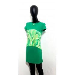 Grünes Kleid mit Muster...