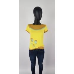 Iza Fabian Shirt Damen Gelb...
