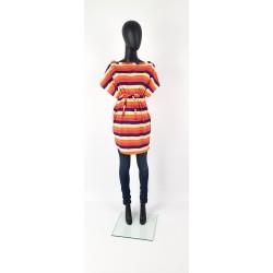 IZA FABIAN Kleid Multicolor...