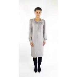 Retro Kleid mit Muster,...