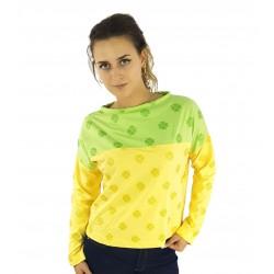 Sweater in Gelb und Grün,...