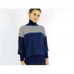 Pullover mit Streifen,...