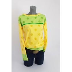 Iza Fabien Sweater Klee Gelb Grün Pastel